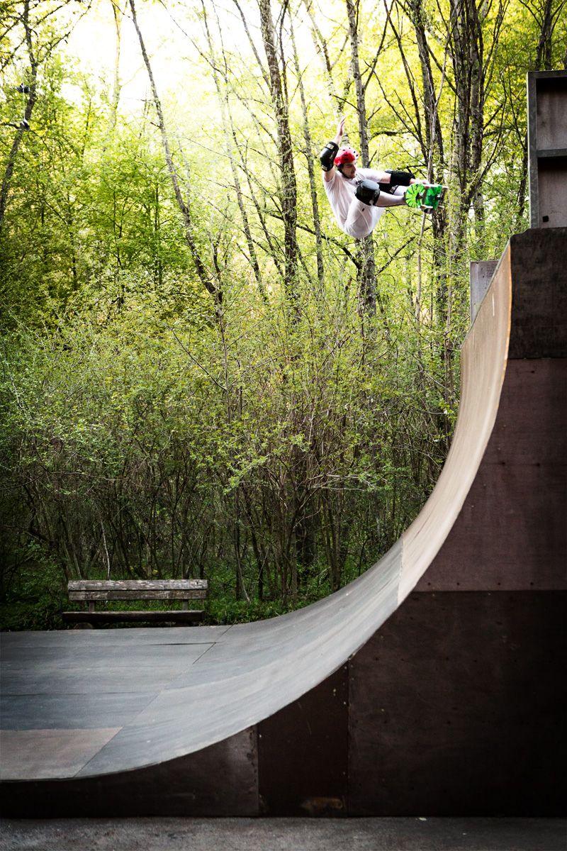 Benni Rieder -  Frontside Air