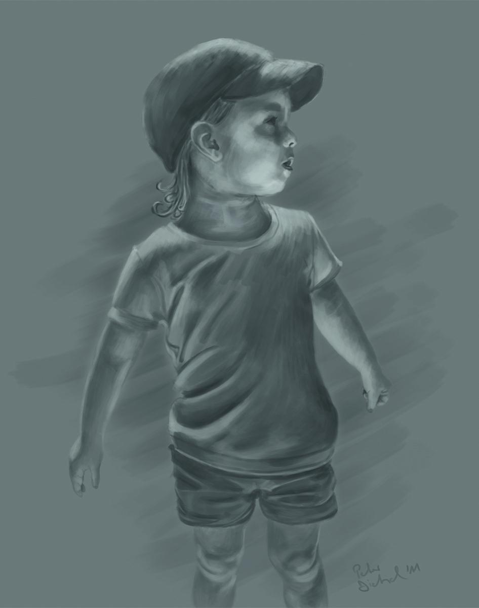 Mia - Digital Painting